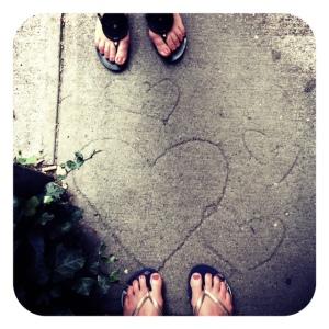 sidewalkhearts