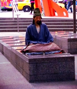 The Monk of Zuccotti Park, keeping Wall St. calm