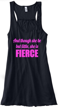 Shakespeare + workout clothing = best thing ever
