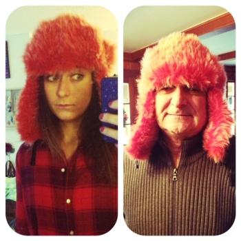 like daughter, like father.
