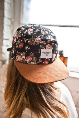 Profound Aesthetic Company's Portland Rose Five Panel Hat